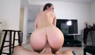 Dillion Harper has some time to get some pleasure with men throbbing cock in her slit