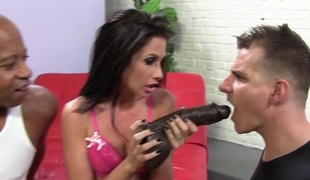 Cuck witness his wife Randi Wright banging a BBC