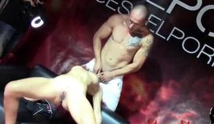 Dana Santo, Amador Xtreme y Sasha Blond follando en el SEB