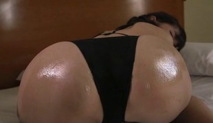 Anna Moist Lips - Black Lace Bikini (Non-Nude)