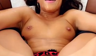 Black haired hot slut Adriana Chechik gets her anus filled with cum after hard penetration