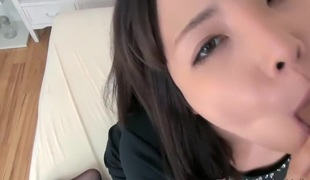 Cute Japanese quick sex by Blowjob with guy friend - Blow Job 2014110801 - 2014110801