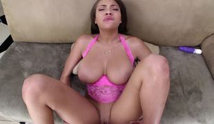 Cassidy Banks titjob is perfect foreplay before this chab fucks her