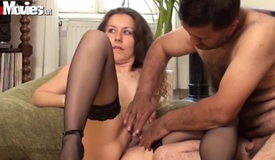 Austrian non-professional gal can't live without having anal sex