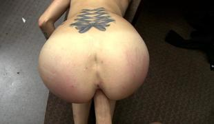 Curvy amateur babe drilled by pawn guy