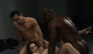 brunette anal hardcore gangbang blowjob ass interracial stor kuk
