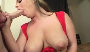 blonde store pupper blowjob ass handjob