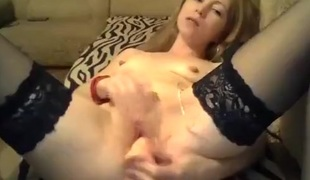 -SOLNCE- fucks herself on the bed