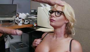 Business woman Phoenix Marie is a curvy whore who loves fucking with her employees. Vehement milf with upper case breast and thick nuisance takes Johnny Sins dick eagerly. He loves her body and bangs her the way she loves it