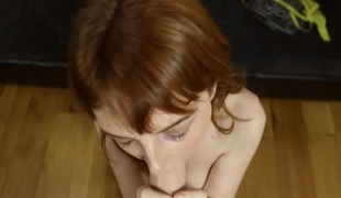 Carnal virtual fucking with a redheaded chick