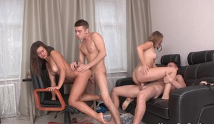 Juvenile Sex Parties - Girlfriends drilled like bitches