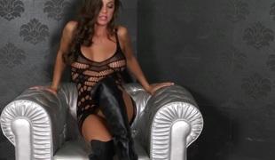 puppene brunette pornostjerne onani ass fitte solo