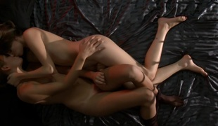 couple of young girls masturbate together until to orgasm 2